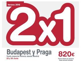 BUDAPEST Y PRAGA 2x1